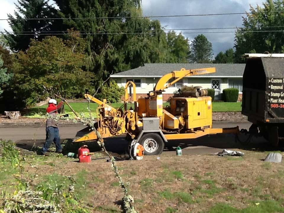 R&B Tree Service Truck in OR
