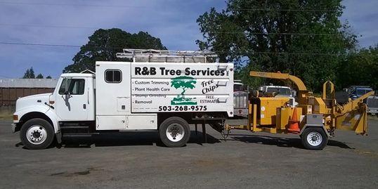 R & B Tree Services Truck